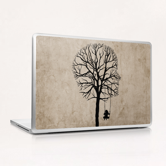 if my memory serves me right  Laptop & iPad Skin by Seamless