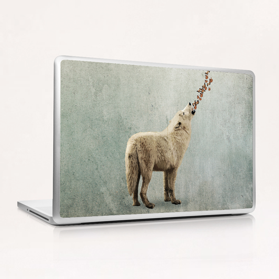 Howl Laptop & iPad Skin by Seamless