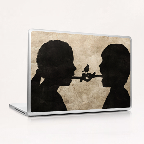 Tied up Laptop & iPad Skin by Seamless