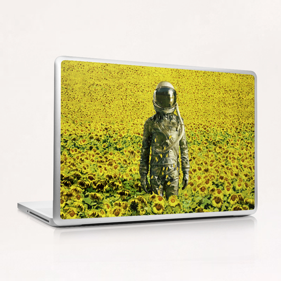 Stranded in the sunflower field Laptop & iPad Skin by Seamless