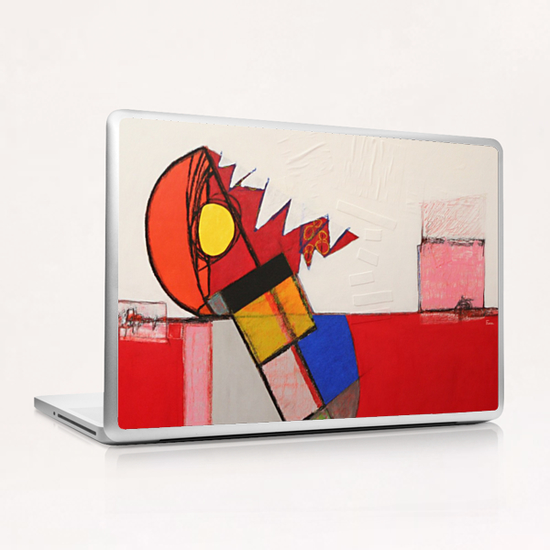 L'Homme Balance Laptop & iPad Skin by Pierre-Michael Faure