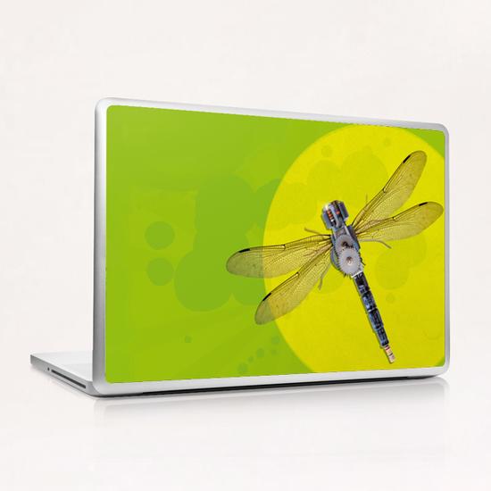 Mecanical Dragonfly Laptop & iPad Skin by tzigone