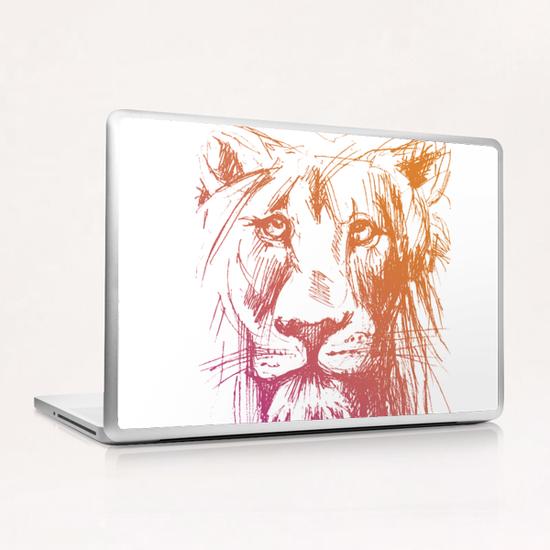 Lion Laptop & iPad Skin by Georgio Fabrello