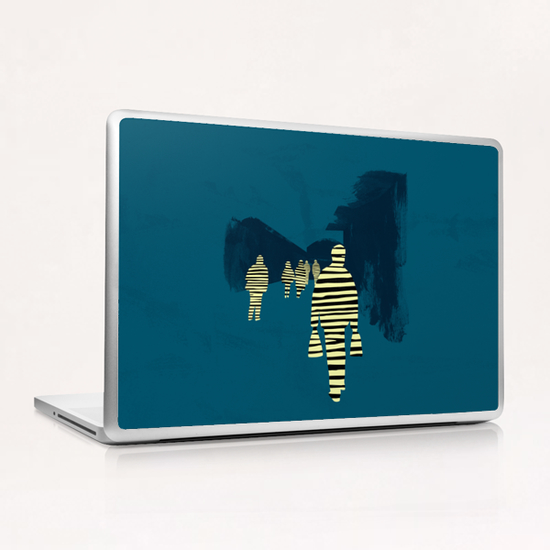 attraction Laptop & iPad Skin by junillu
