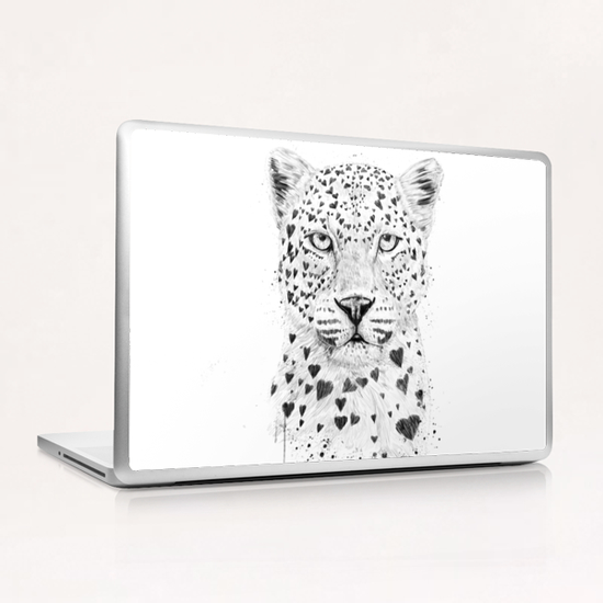 Lovely leopard Laptop & iPad Skin by Balazs Solti