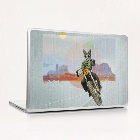 On the Road Laptop & iPad Skin by tzigone