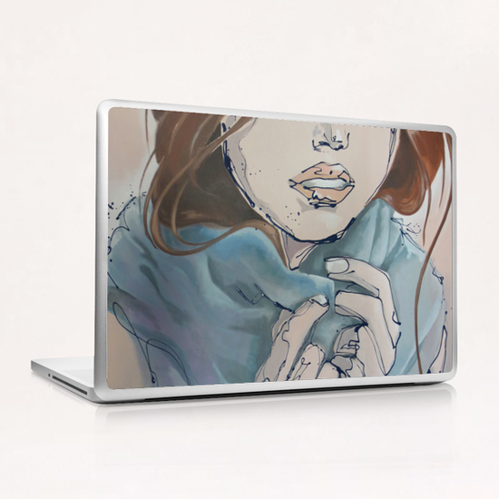 Oritia Laptop & iPad Skin by Monique van Steen