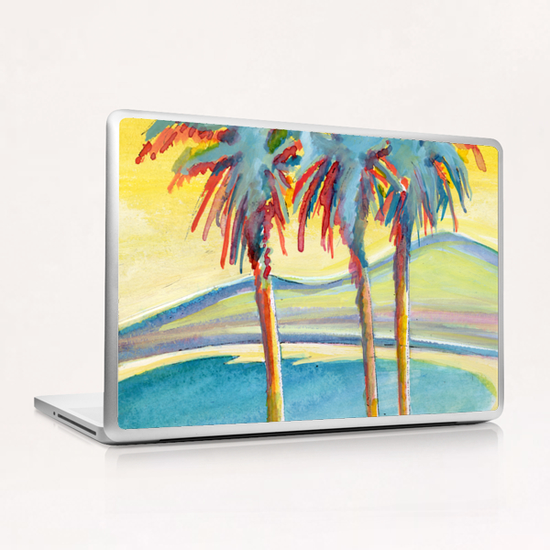 Palm Tree on the French Riviera Laptop & iPad Skin by Georgio Fabrello