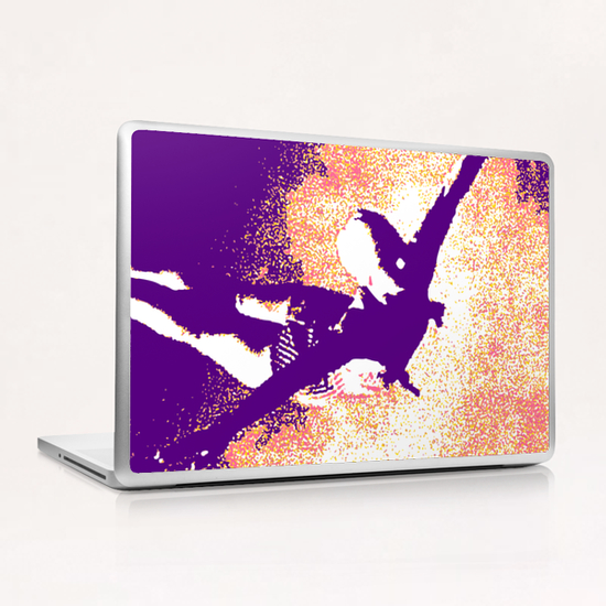 Vole-au-vent Laptop & iPad Skin by Alex Xela