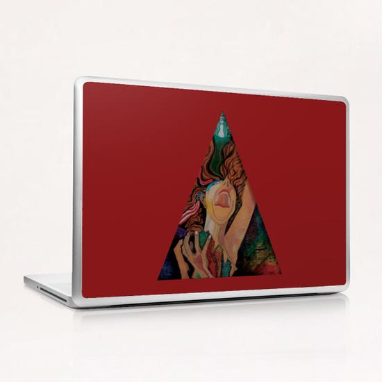 the cry for freedom Laptop & iPad Skin by frayartgrafik