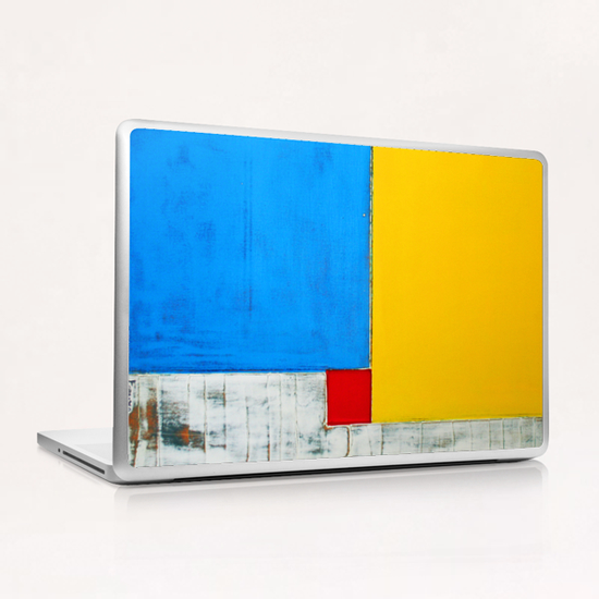 Red Square Laptop & iPad Skin by Pierre-Michael Faure