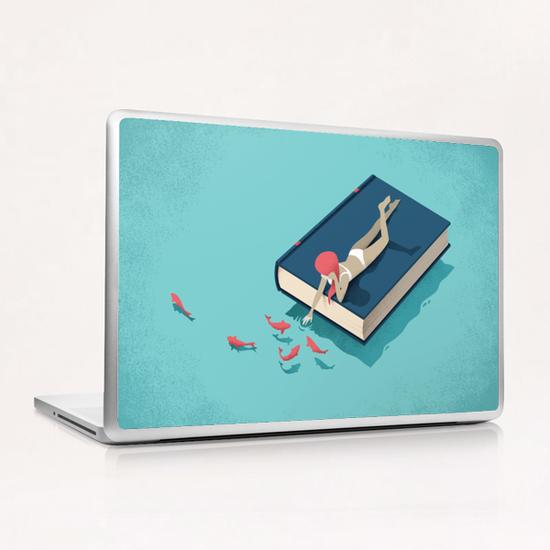 Relaxing Laptop & iPad Skin by Andrea De Santis