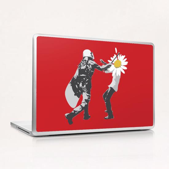Flower Riot Laptop & iPad Skin by tzigone