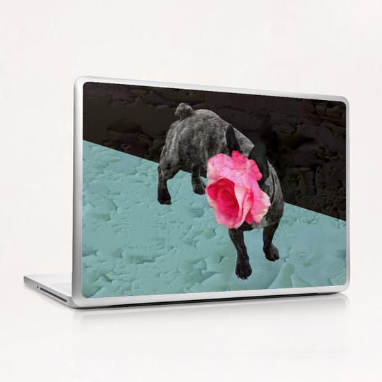 Romantic French Bulldog Laptop & iPad Skin by Ivailo K