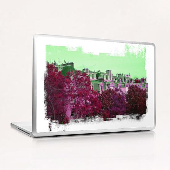 Roofs in Montmartre Laptop & iPad Skin by Malixx