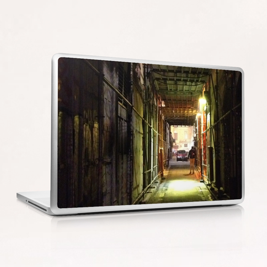 Ruelle de Lyon Laptop & iPad Skin by Ivailo K