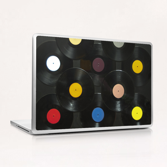 Serial Disker Laptop & iPad Skin by di-tommaso