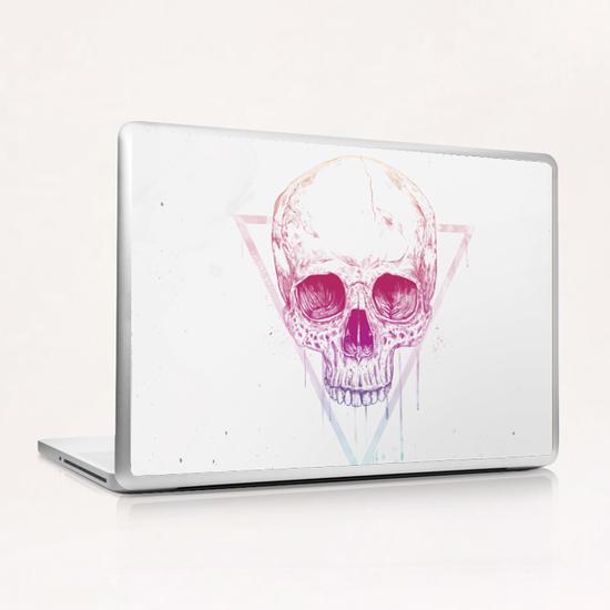 Skull in triangle Laptop & iPad Skin by Balazs Solti