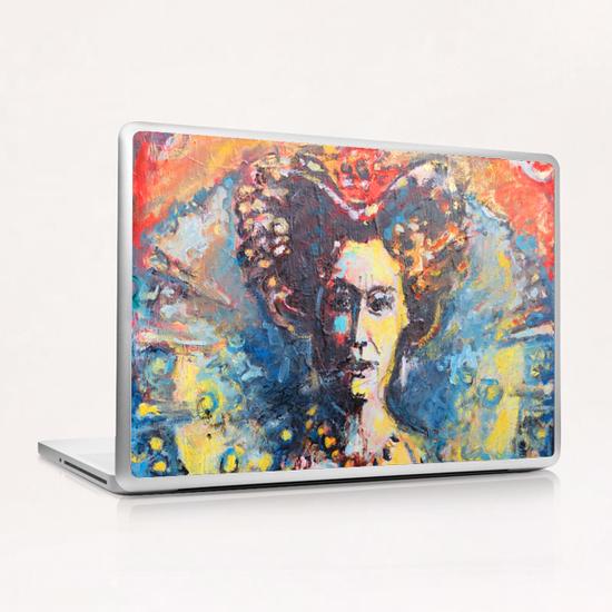Solar Queen Laptop & iPad Skin by Georgio Fabrello