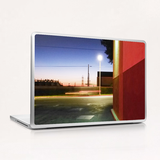 Sunset in L.A. Laptop & iPad Skin by Vic Storia