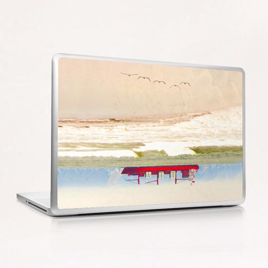 Supertankred Laptop & iPad Skin by Vic Storia
