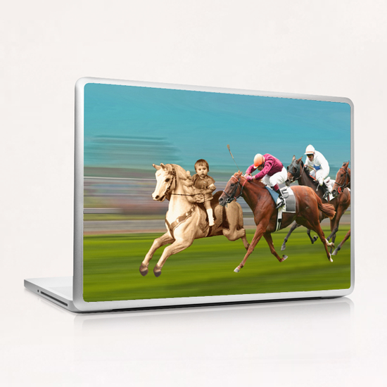 The Race Laptop & iPad Skin by tzigone