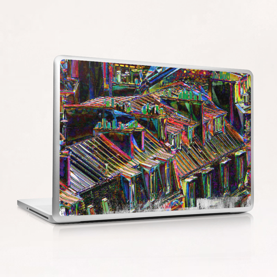 Roofs in Paris Laptop & iPad Skin by Malixx