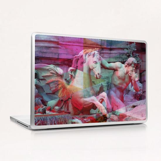 Trevi Fountain Laptop & iPad Skin by Vic Storia