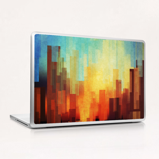 Urban Sunset Laptop & iPad Skin by DejaReve