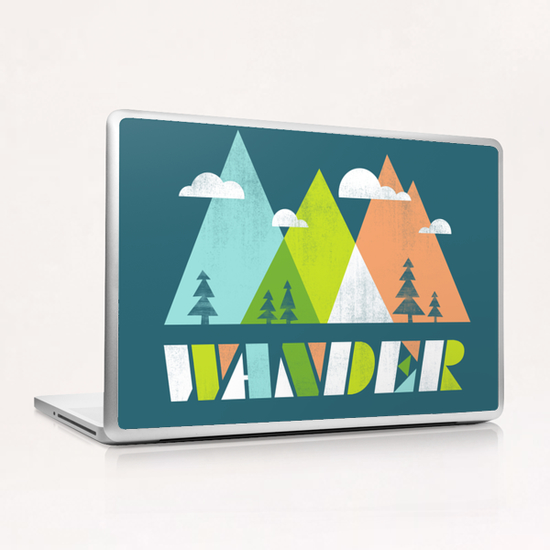 Wander Laptop & iPad Skin by Jenny Tiffany