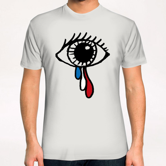 Paris, 13 novembre 2015 T-Shirt by tzigone