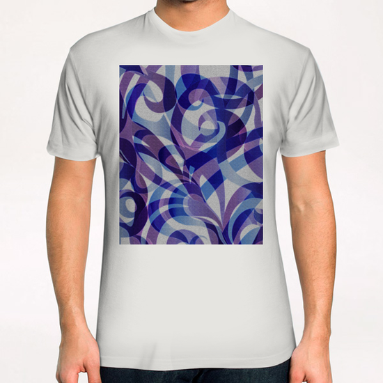 Floral Abstract G4 T-Shirt by MedusArt