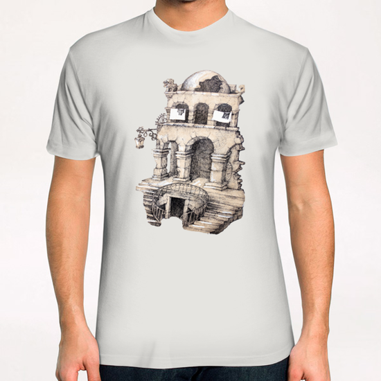 La Maison Visage T-Shirt by Georgio Fabrello