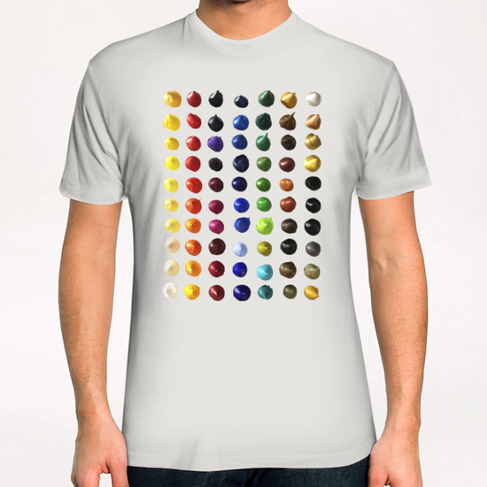 Color Points T-Shirt by Ivailo K