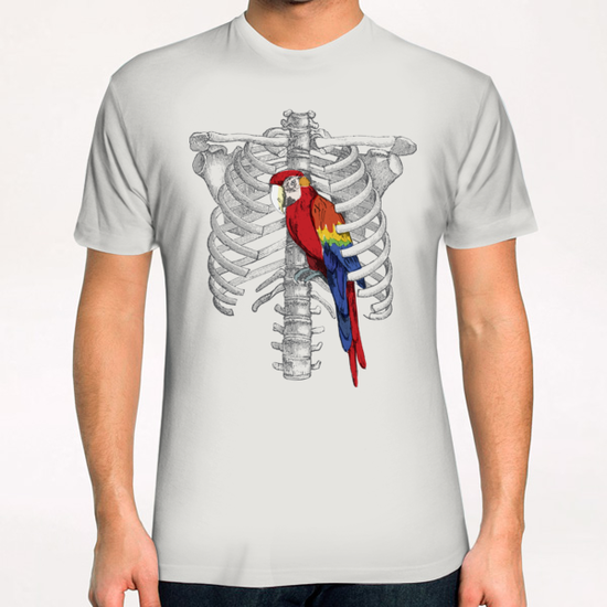 Thorassic Cage T-Shirt by tzigone