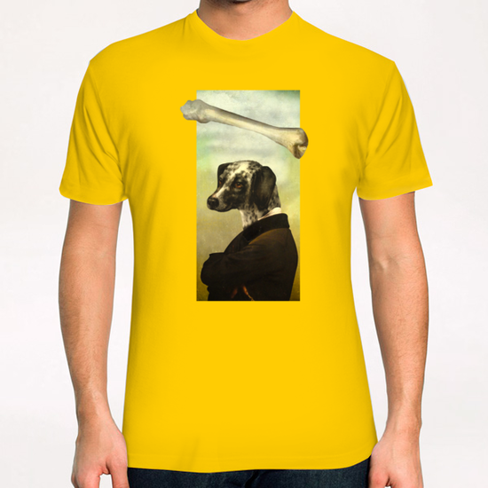 A Dog's Dream T-Shirt by DVerissimo