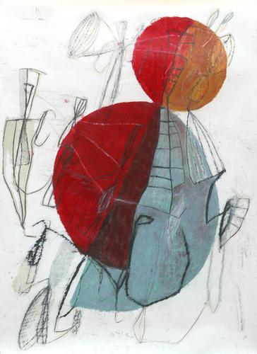 Composition 10 Mural by Jean-Noël Bachès