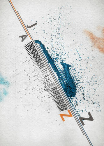 Jazz Festival Mural by cinema4design