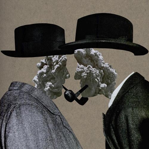 Smoke (II) Mural by Lerson