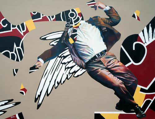 Borderline Mural by Manuel Martinez