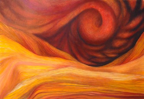 Desert Storm Mural by Doug Lawler