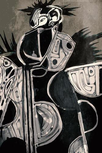 Donna´s got a gun Mural by inkycubans