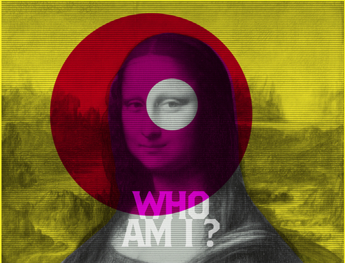 Who am I? Mural by Vic Storia