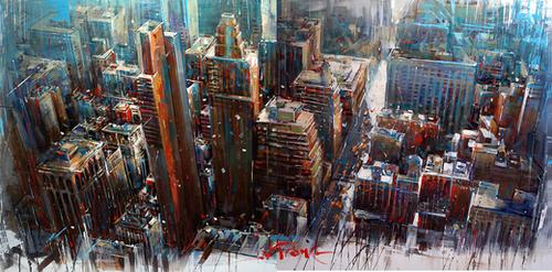 NEX YORK Mural by Vantame