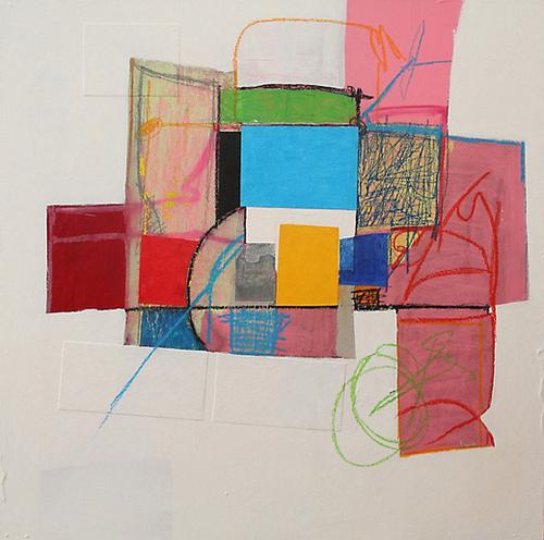 Pink Variations Mural by Pierre-Michael Faure