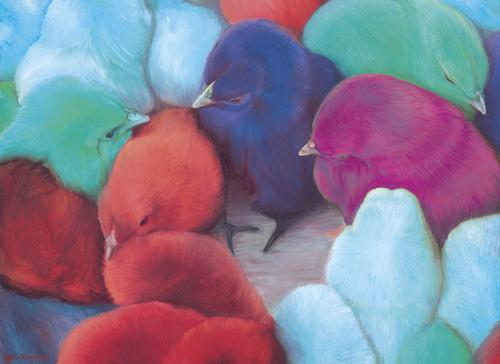 Chicks II Mural by di-tommaso