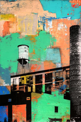 Rust Belt Mural by dfainelli
