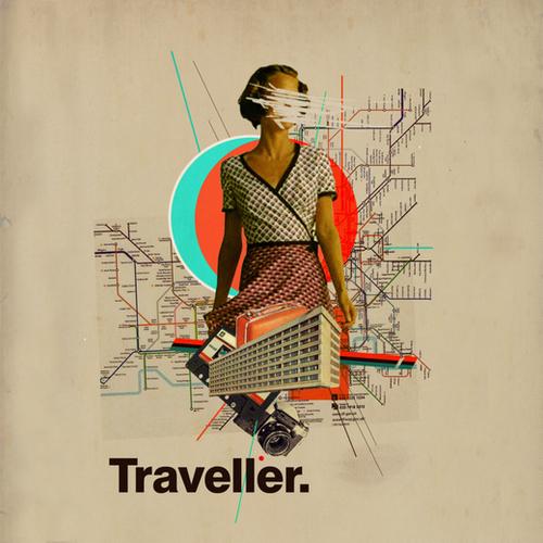 Traveller Mural by Frank Moth