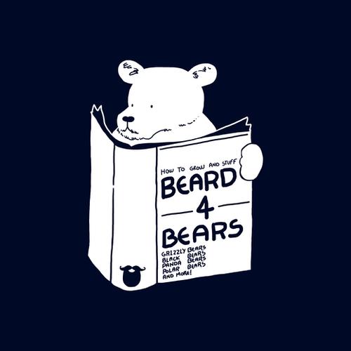 Beard For Bears Mural by Tobias Fonseca