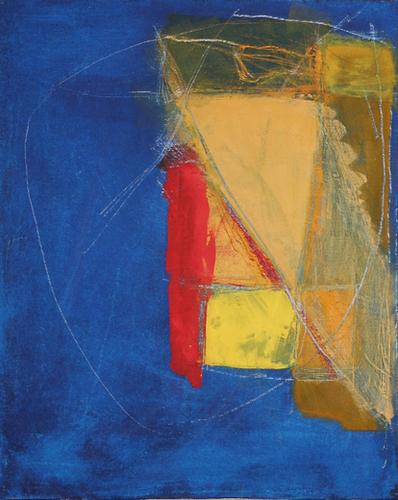 Bleu Profond Mural by Pierre-Michael Faure
